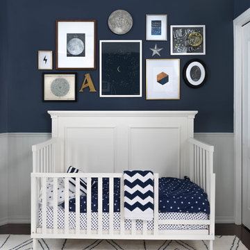 Celestial Toddler Bedroom - Gallery Wall