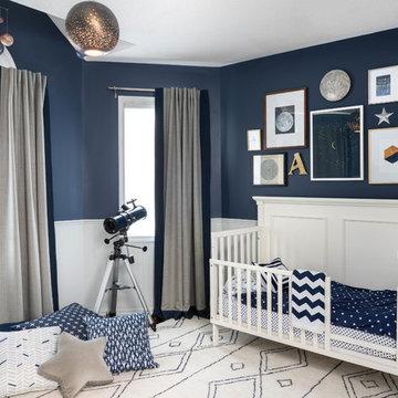 Celestial Toddler Bedroom