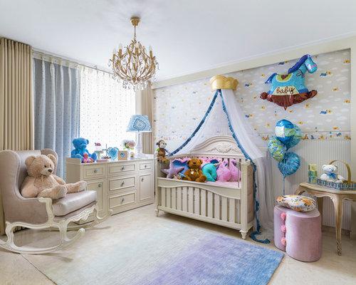 Foto e idee per camerette per neonati cameretta per for Idee pareti cameretta neonato