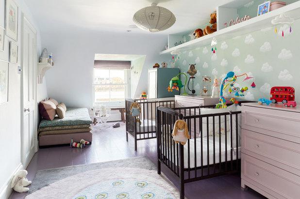 Contemporary Nursery by NBB Design