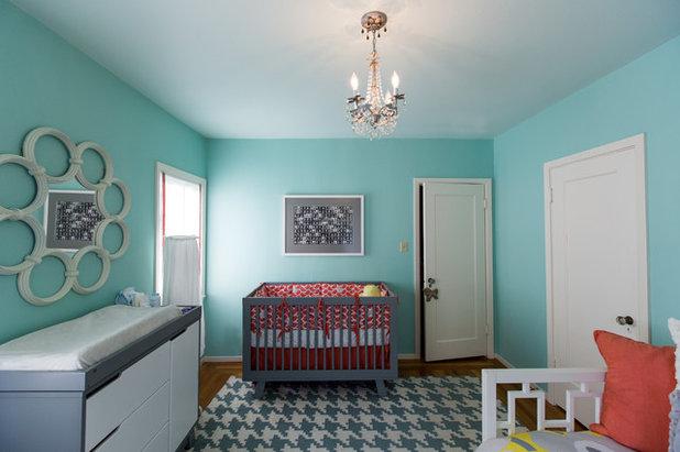 Contemporary Nursery by Olive Juice Designs