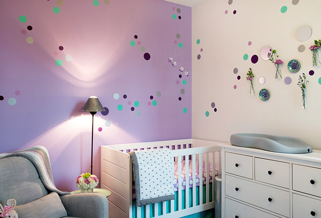 Modern Nursery by Outline Interiors