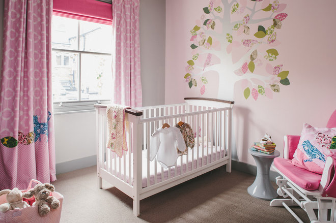 Contemporary Nursery by Emma Green Design
