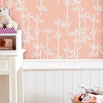 Children's bedrooms with wallpaper