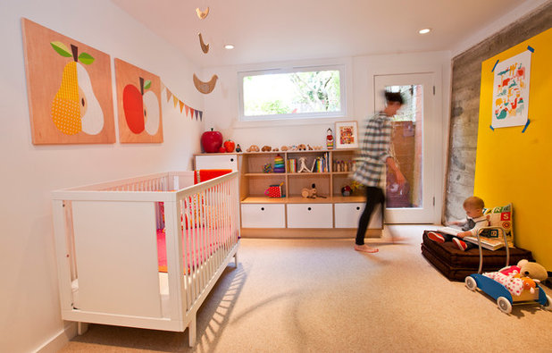 Modern Nursery by Red Princess Productions