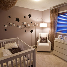 Traditional Nursery by Wen-Di Interiors