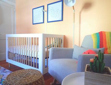 Colorful Gender Neutral Baby Nursery