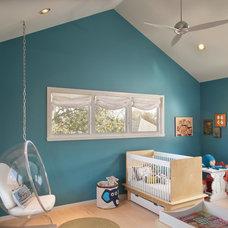 Contemporary Nursery by Benjamin Hill Photography