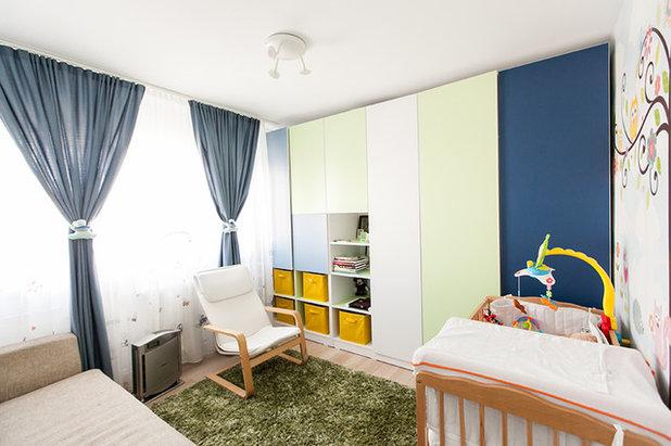 Contemporary Nursery by Black Fox Interiors