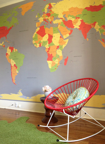 Contemporary Nursery by Benedict August