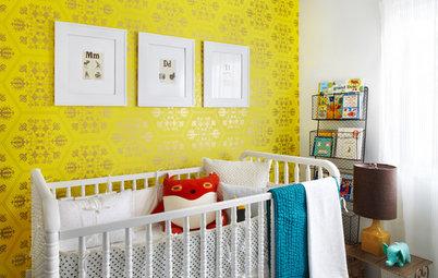13 astuces pour am nager une chambre de b b cocooning. Black Bedroom Furniture Sets. Home Design Ideas