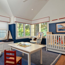 Traditional Nursery by FGY Architects