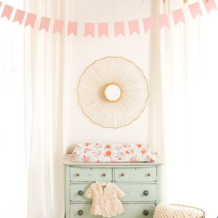 Coral + Gold + Mint Nursery