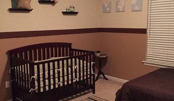 Cozy Living Room and Nursery