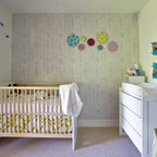 Blue Nursery By Four Walls And A Roof