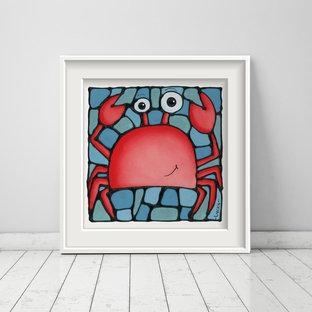 Crab Print for Ocean Themed Nursery