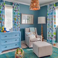 Beach Style Nursery by Stone Creek Builders