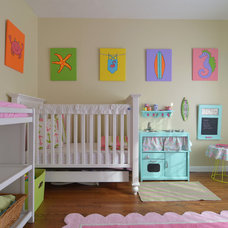 Beach Style Nursery by Sarah Greenman