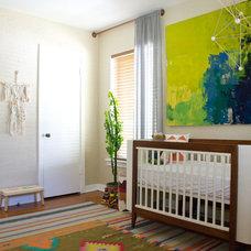 Eclectic Nursery by Hilary Walker
