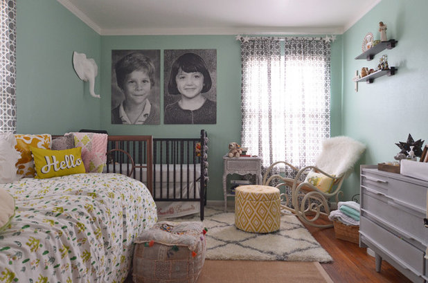 Eclectic Nursery by Sarah Greenman