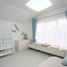 Contemporary Nursery by SVOYA studio