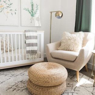 Idée de décoration pour une chambre de bébé vintage.