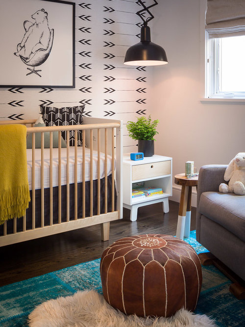 mid century modern baby furniture. example of a small midcentury modern nursery design in san francisco mid century baby furniture