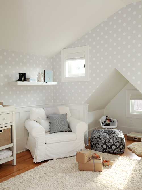 Polka Dot Wall Home Design Ideas Pictures Remodel And Decor