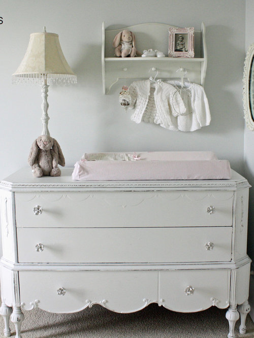 shabby chic style babyzimmer ideen design bilder houzz. Black Bedroom Furniture Sets. Home Design Ideas