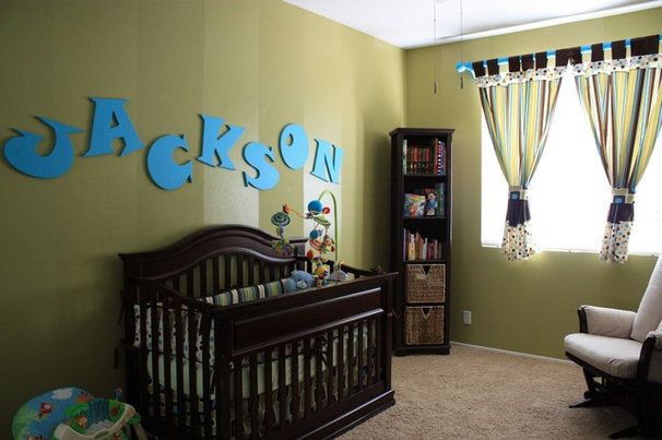 Eclectic Nursery by Grace Blu Designs, Inc.