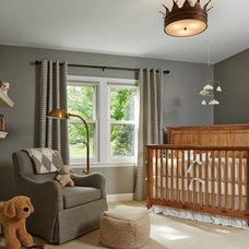 Transitional Nursery by Elsie Interior