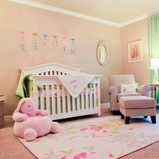 Traditional Nursery by M M Design, LLC