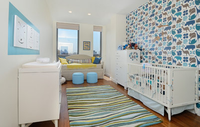 12 Dreamy Accent Walls for Baby's Room