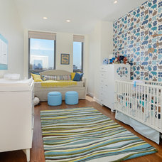 Contemporary Nursery by Hudson Place Realty