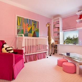 Chambre de bébé éclectique de luxe : Photos, aménagement et ...