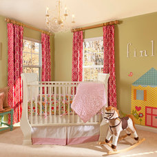 Traditional Nursery by Decorating Den Interiors - Susan Sutherlin