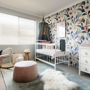 This is an example of a contemporary nursery in Perth.