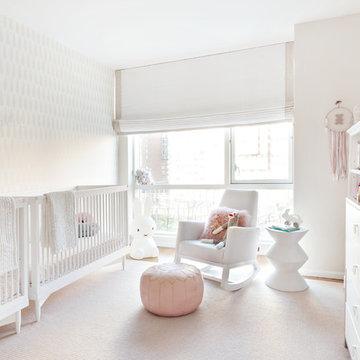 Frankie and Ruby's Twin Nursery