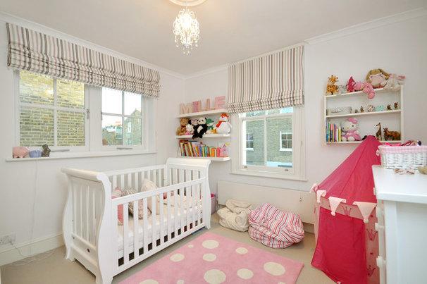Contemporary Nursery by MDSX Contractors Ltd