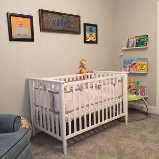 Fun and Colorful Nursery for a Baby Boy- Animal Theme