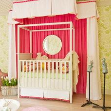 Transitional Nursery by Elizabeth Krial Design, LLC
