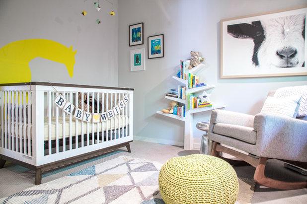 Transitional Nursery by designstiles