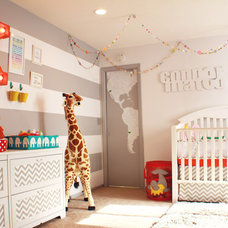 Contemporary Nursery by HowJoyful Design Studio