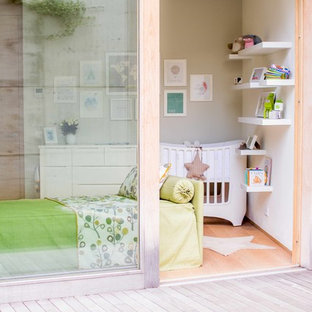 Photo of a small contemporary nursery in Other.