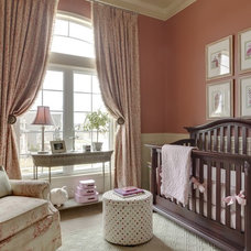 Traditional Nursery by McCroskey Interiors