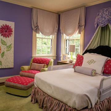 Girl's Room Purple & Green