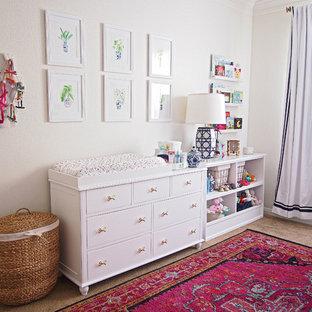 На фото: комната для малыша в восточном стиле для девочки