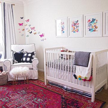 Girly Chinoiserie Nursery