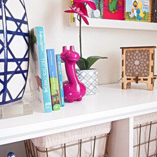 オースティンのアジアンスタイルのおしゃれな赤ちゃん部屋の写真