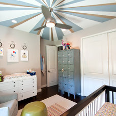 Contemporary Nursery by Red Egg Design Group